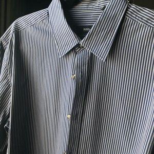 Hugo Boss Striped Dress Shirt